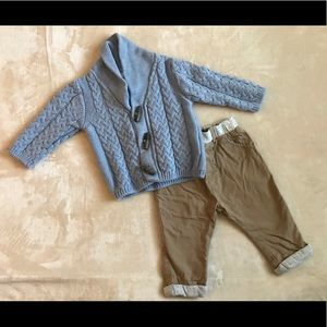 Next brand baby outfit 6-9 mos